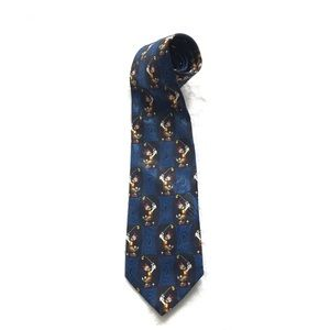 Mickey Unlimited Disney Daisy Duck Polyester Tie